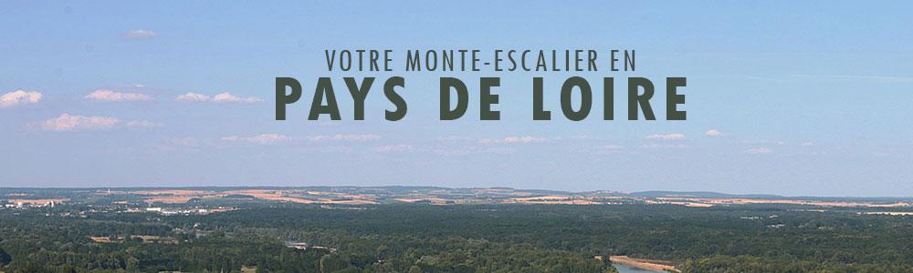 Monte escaliers en Pays de Loire et devis