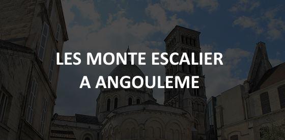Article sur les monte escalier à Angoulême
