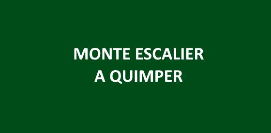 Article sur les monte escalier à Quimper