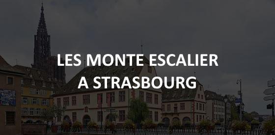 Article sur les monte escalier à Strasbourg